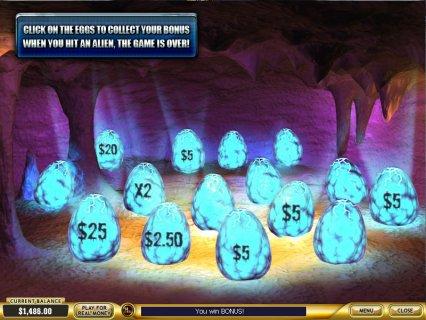 Alien Eggs Bonus in Alien