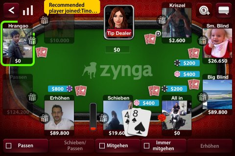 Play Zynga Poker Online