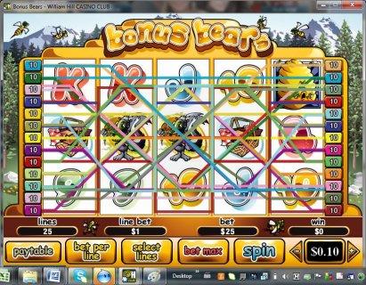 Bonus Bears Slot Machine