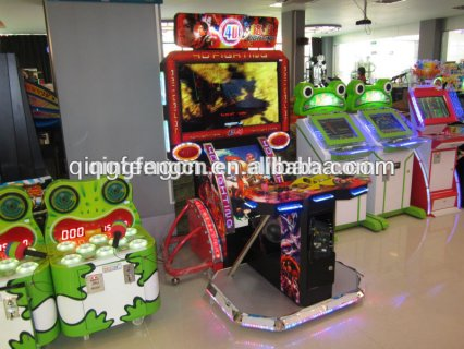 Game hall electronic video