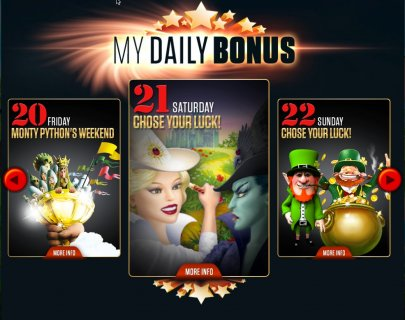Get your Weekend Slots Treat
