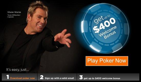 Poker Review - $8 FREE