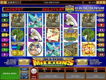 Major Millions Slot Machine