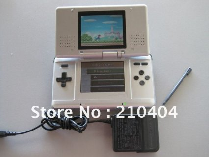 Handheld game console with