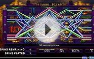 3 Kings Video Slot Machine - Online Pokies By IGT - This