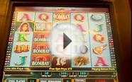 Bombay IGT Slot machine free spin bonus #2 Walk of shame