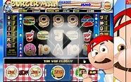 Burger Man Slot BONUS ROUND: Get a £5 No Deposit Bonus To