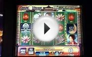 CHINA MOON Penny Video Slot Machine with BONUS RETRIGGERED
