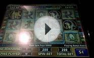 Cleopatra II part 1/2 HAND PAY JACKPOT high limit slots $10