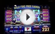 FIREHOUSE HOUNDS Penny Video Slot Machine with FREE GAME