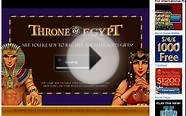 Free Throne Of Egypt Slot Game with No Registration and
