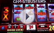 Ghostbusters Firehouse Free Games slot bonus BIG WIN Monte