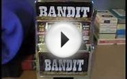 Jackpot Bank Token Operated Skill Stop Slot Machine Toy