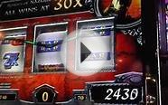 """Lord of the Rings"" Slot Bonus spin win - Luxor Las Vegas"