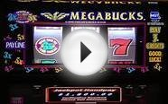Megabucks JACKPOT HANDPAY Wheel of Fortune Jackpots Slot