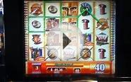 PLATAEA Penny Video Slot Machine with BONUS Las Vegas Casino