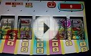 Price is Right Plinko slot machine bonus win