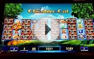 The Cheshire Cat Slot Bonus - Free Spins, Big Win!