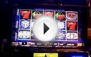 Vegas Hits slot bonus win at Hollywood Casino