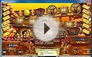 Video Slot Gold Mine Game