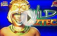 Wild Aztec Slot - First Look, New Konami Slot, Line Hit