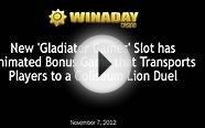 WinADay New Gladiator Games Slots and Slots Tournament